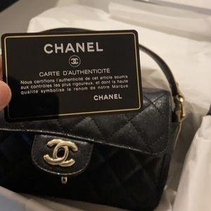 💯Authentic Chanel Flap bag (Black)